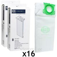 16 x SEBO Genuine Vacuum Bags Ultrabag Airbelt Komfort K1 K3 Vulcano 6629ER