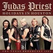 JUDAS PRIEST 'HOLIDAYS IN HOUSTON' (Texas Broadcast 1983) CD (2021)