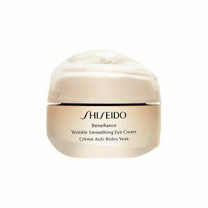 Shiseido Benefiance Wrinkle Smoothing Eye Cream 15ml, 0.51oz Anti-Aging Care NEW