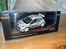 RALLY 1/43 CODE 3 BRUNO MAGALHAES RALLY MADEIRA 2012 PEUGEOT 207 ERC WRC