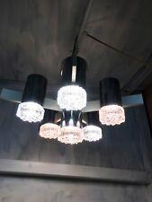 Modernism Chandelier Lamp Design Gaetano Sciolari Vintage 60s 70S Murano