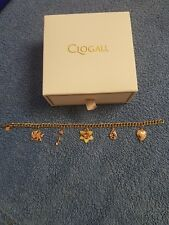 Genuine Clogau Charm Bracelet. Yellow and Rose Gold
