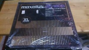 New Maxell UDXL 35-180B 10 inch reel to reel tape on metal reel In box   new