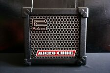 Roland Micro Cube Guitar Amplifier W/ Built In Tuner and Effects