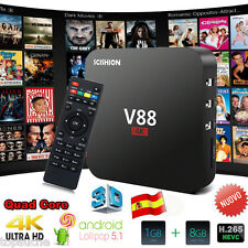 8GB SCISHION V88 Smart TV Box 4K H.265 Android5.1 Rockchip 3229 QuadCore Mini PC