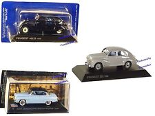 Prize of 3 model Cars PEUGEOT 402 B and 203 1954 SIMCA collectibles vehicles