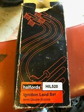 Halfords Ignition Lead Set HIL520 RC-FD538 Ford Escort Fiesta Courier 1.3