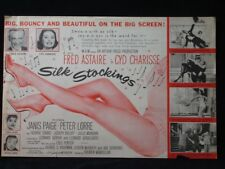 Silk Stockings-1957 Fred Astaire, Cyd Charisse Movie Herald ad mini poster B