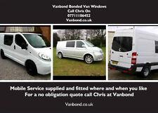 Tránsito Vivaro Renault Peugeot Vw Vidrio teñido privacidad de Windows 300 para 2 armarios