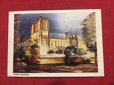 cp paris la cathédrale notre dame de paris Carte Postale