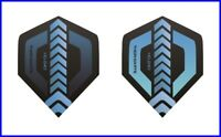 150 mic THOR-DARTS Flights blau hellblau dunkelblau dart flight 150 micron HD280