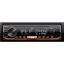 JVC KD-X451DBT Autoradio digitale Bluetooth, DAB + e ingresso USB / AUX frontale