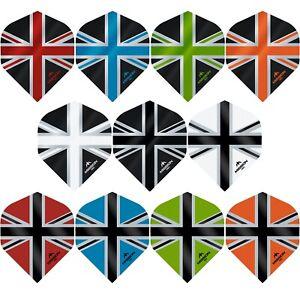 rare 5 sets of each design 15 new sets of Delta shaped dart flights