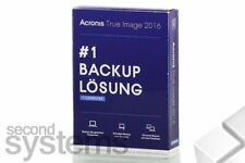 New - Acronis True Image 2016 #1 Backup Löschung 1 PC - TIHWB2DES