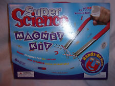 Super Science Magnet Kit Science Activities Ages 8+ Hands On Learning