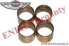 NEW BRASS MADE FOOT BRAKE PEDAL SHAFT BUSH 4 UNITS FOR FORD TRACTORS @ UK
