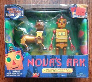 Nova's Ark - Nova & Sparky Robot Creation Set by Trendmasters (1999)