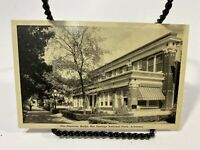 THE SUPERIOR BATHS, HOT SPRINGS NATIONAL PARK, ARK UNUSED POSTCARD BLACK/WHITE