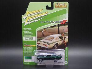 2021 JOHNNY LIGHTNING 1976 DODGE APEN R/T CLASSIC GOLD VS B REL 2 NO 6 1:64 CAR