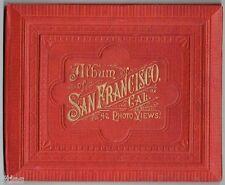 Ward Brothers Album of San Francisco 42 Photo Views Bildband 1889 USA