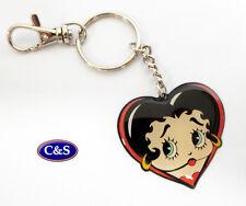 Betty Boop -Heart Face- Key ring/chain - (KR948)