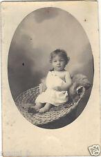 Photographie ancienne - Bébé (H9600)