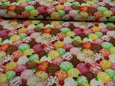 Patchworkstoff - All over - von Makower  50 x 110cm BW mehrfarbig m.Motiven