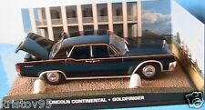 LINCOLN CONTINENTAL GOLDFINGER 1/43 JAMES BOND 007 UNIVERSAL HOBBIES 1/43