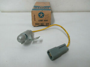 Mopar NOS 69 Dodge Chrysler Imperial Ignition/Starter Lamp W/Time Delay 2947251