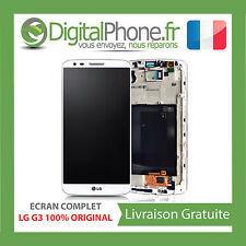 ECRAN ORIGINAL COMPLET LG G3 D855 BLANC