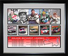 Holden Bathurst Legends Signed Framed Memorabilia