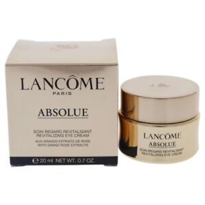 Lancome Absolue Revitalizing Eye Cream Grand Rose Extracts .20ml .7oz New In Box
