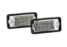 2x LED SMD COPPIA LUCI TARGA Audi A4 8EC 8E B7 Saloon + S4 RS RS4 (CB) IT