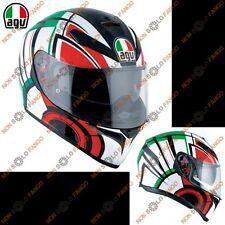 Casco casque Helmet helm Integrale Agv K3 SV Pinlock AVIOR Italy tricolore ml