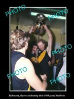 OLD LARGE HISTORIC PHOTO OF 1980 RICHMOND FC GRAND FINAL WIN MALTHOUSE MONTEATH