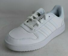 ADIDAS Size 5, White Hoops 2.0 K  Shoes