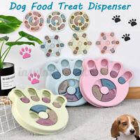 Interactive Dog Cat Food Feeder Pet Puzzle Activity Toys Training Games Bowl AU