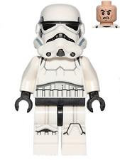 Lego SW 585 Stormtrooper (Printed Legs, Dark Blue Helmet Vents)