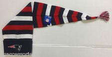 NWT NFL New England Patriots Reebok Winter Knit Cuffed Tassel Sock Hat Cap NEW!