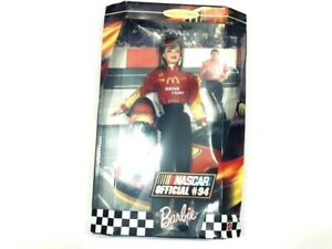 NASCAR Official #94 Barbie Doll Collector Edition 1999 Mattel Bill Elliott
