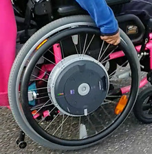 Alber E-motion M15 Power assist wheels Quickie Invacare wheelchairs