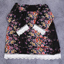 Blouse Lace Unbranded Floral Tops & Shirts for Women