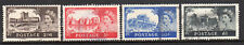 1955 Great Britain Gb 309-312 Used Set, Qeii Queen Elizabeth & Castles, Vf/Xf*
