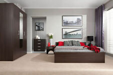 Bedframe Contemporary Bedroom Furniture Sets with 5 Pieces
