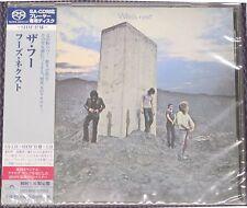 "THE WHO ""WHO'S NEXT"" JAPAN SHM-SACD DSD 2014 JEWEL CASE *SEALED*"