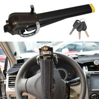 Portable Car Steering Wheel Anti Theft Security Airbag Lock Safe Device + 3 Keys