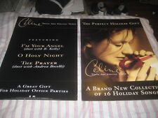 Celine Dion-(these are special times)-1 Poster-2 Sided-12X18 Inches-Excellent-Ra