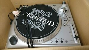 STANTON STR8-60 Direct Drive Turntable With Original Box - PAT TESTED