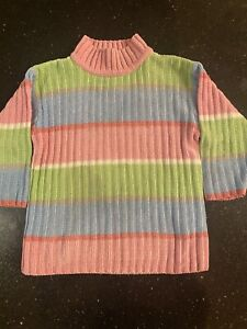 Vintage 1998 Gymboree Toddler Kids Girls Sweater Size 3-4