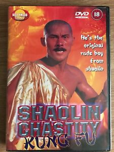 Shaolin Chastity Kung Fu DVD 1981 Old School Martial Arts Kung Fu Movie